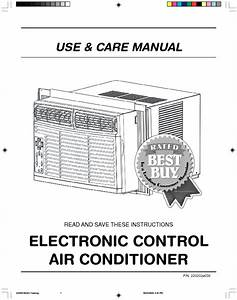 Electronic Control Air Conditioner Manuals