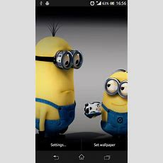 Download Minion Live Wallpaper For Android By Kirakira