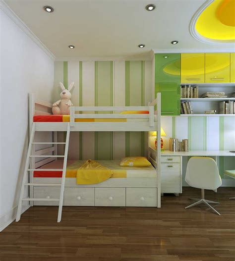 Beautiful Green And Yellow Bedroom 2012  Interior Design