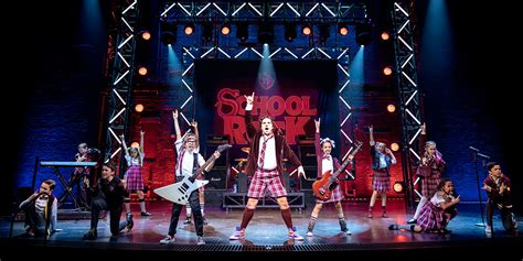 school rock musical official london theatre