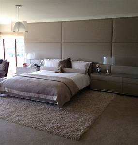 wall mounted headboard panels interior design ideas With save more space with wall mounted headboards