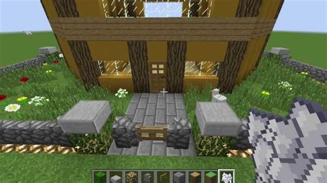 minecraft stained clay mansion tutorial youtube