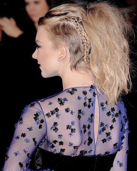 natalie dormer haircut 25 best ideas about undercut ponytail on