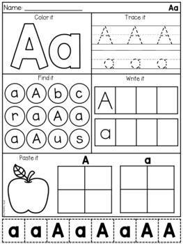 letter  alphabet worksheets  images alphabet