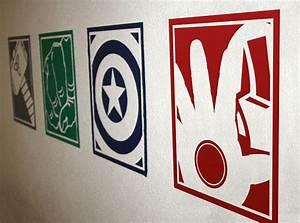 superhero vinyl wall decals With superhero wall decals