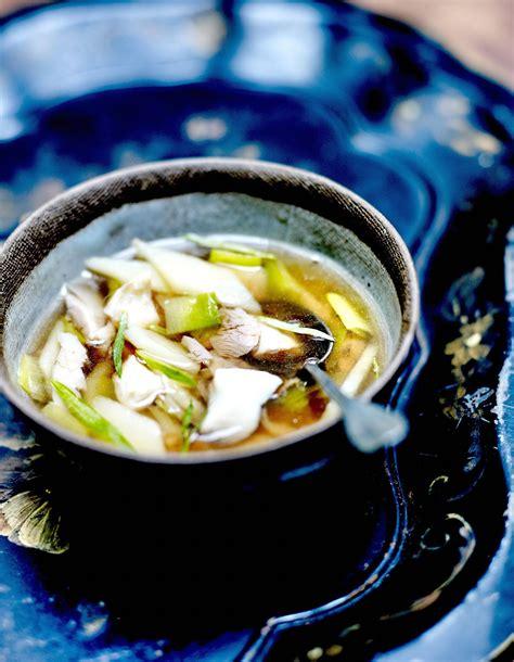 cuisiner du choux fleur soupe parisienne au thé et poisson émietté pour 4