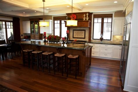 what color floor with dark cabinets 34 kitchens with dark wood floors pictures