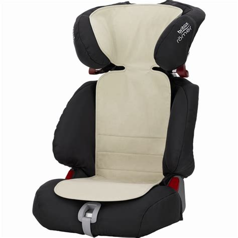 norauto housse siege housse thermo cover beige pour siège auto britax romer