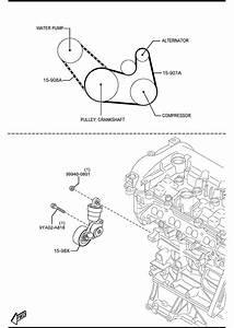 2012 Mazda 3  Skyactiv 2 0  Need Help Finding Serpentine