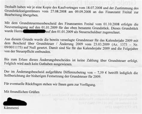Was Ist Grundsteuermessbetrag by Bescheid 220 Ber Grundsteuermessbetrag Thesehour