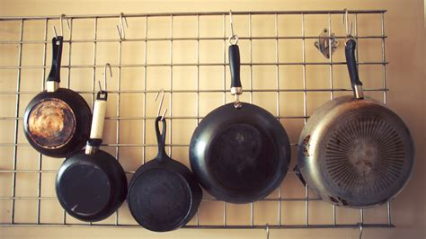 Ideas For Hanging Pots And Pans On A Wall