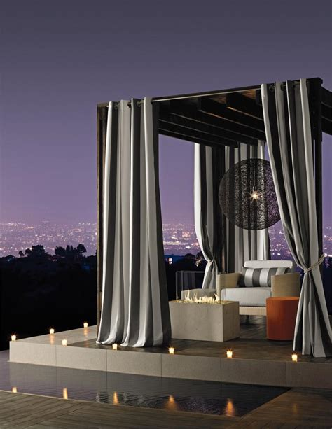 outdoor curtain panels inspiration homesfeed