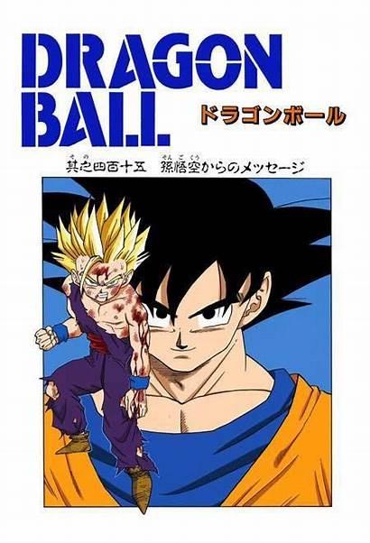 Goku Dragon Manga Gohan Ball Father Son