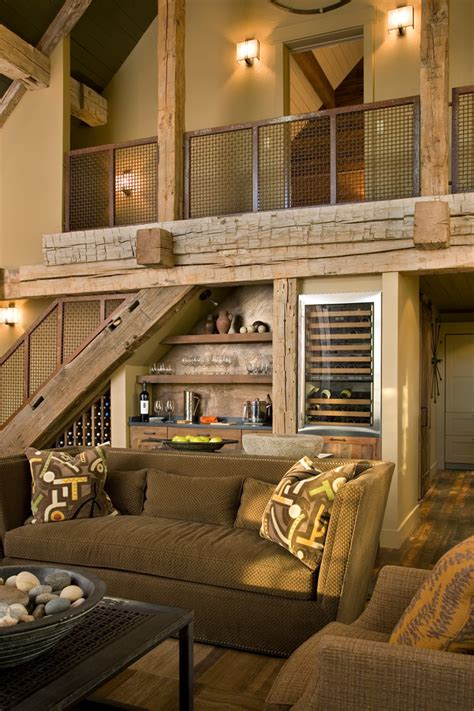 budget imges sitting best furniture best rustic living how to use the space stairs as storage interior