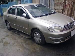 Used Toyota Corolla Nze Xli