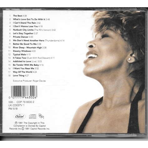 Tina Turner Simply The Best by Simply The Best By Tina Turner Cd With Romeotiti Ref