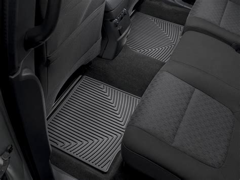 weathertech floor mats ford explorer weathertech all weather floor mats ford explorer 2011 2014 black ebay