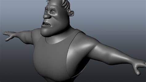 Modeling a Character in Maya