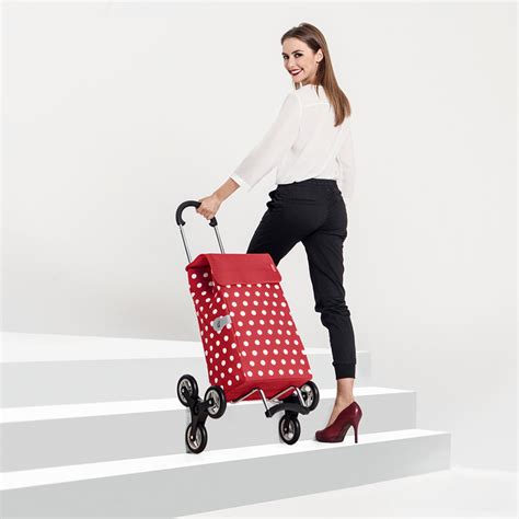 caddy chariot de course 6 roues scala shopper lilo caddie andersen