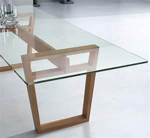 Verre Sur Mesure Pour Table : plateau en verre pour table sur mesure id e ~ Dailycaller-alerts.com Idées de Décoration
