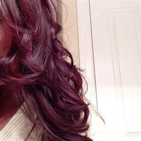 What Colors Go With Hair by Burgundy Plum Hair Hairstyles And Tips I