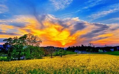 Sky Wallpapers Spring Scenery Nature Desktop America