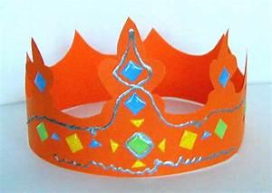 Couronne En Papier à Imprimer : fabriquer une couronne royale t te modeler ~ Melissatoandfro.com Idées de Décoration