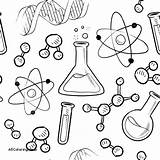 Science Coloring Pages Clara Mad Barton Tools Experiment Scientific Getcolorings Method Printable Sheets Pag sketch template