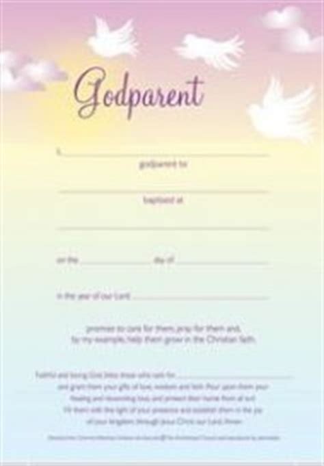 Pin Dedication Certificate For Godparents Templates On