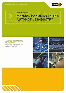 Manual Handling In The Automotive Industry