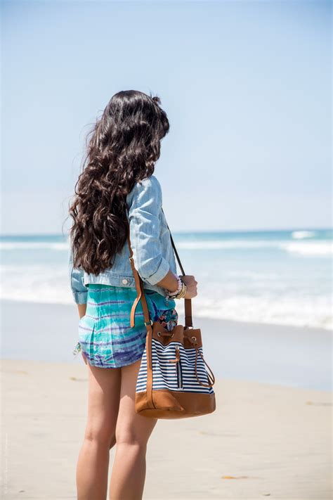 A Cute Summer Beach Outfit for SoCal