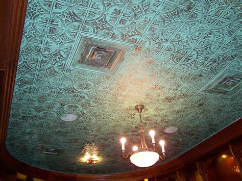 paint color tin ceiling faux tin ceiling tiles ceiling tiles ceilings and turquoise