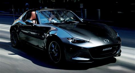 mazda mx  miata unveiled  japan   hp