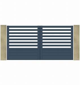 Portail Alu Pas Cher : portail aluminium battant pas cher charming portail alu ~ Edinachiropracticcenter.com Idées de Décoration
