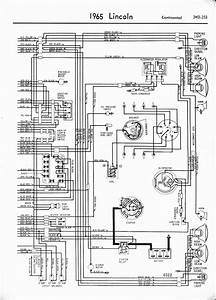 1966 Lincoln Continental Wiring Diagram