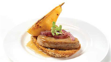 Escalopes De Foie Gras by Foie Gras Escalopes With Pear And Caramelized Iga