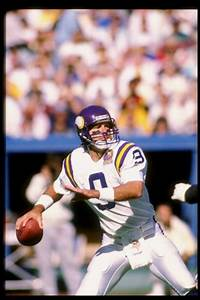 Qbs The Minnesota Vikings Drafted Since Tommy Kramer