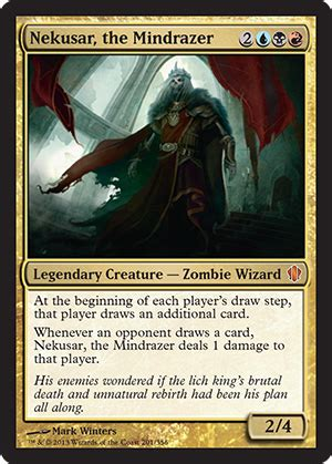 nekusar the mindrazer from commander 2013 spoiler