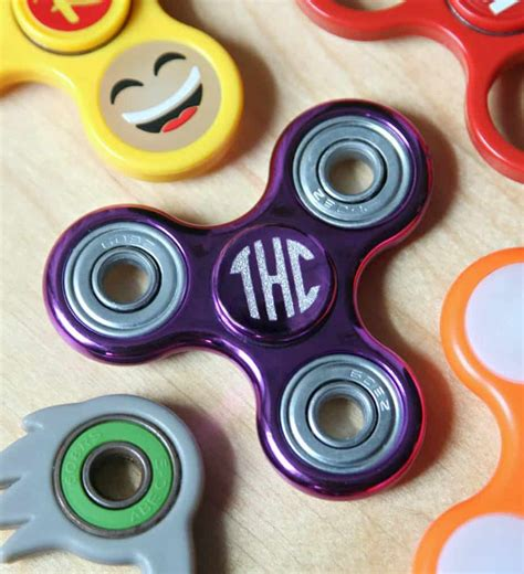 personalized fidget spinner