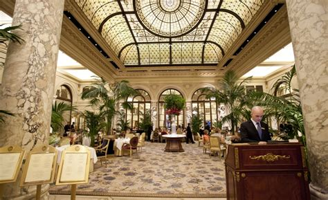 Bridal Shower Nyc Locations by The Plaza Hotel S Historic Palm Court Whale Lifestyle