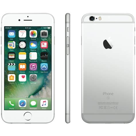 iphone 6s for apple mkqu2x a iphone 6s 128gb silver at the guys