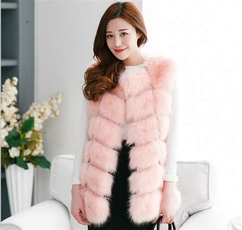 Faux Fur Vest Jacket Women Fall Fashion u2013 Designers Outfits Collection