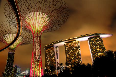 Hotel Near Garden By The Bay Singapore - file supertree grove at gardens by the bay and marina bay