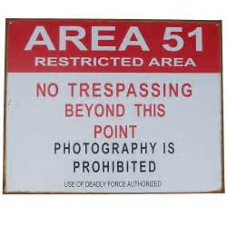 Redneck Bedroom by No Trespassing Us Area 51 Tin Sign