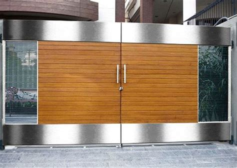 modern boundary wall designs  gate google search steel gates main gate design steel
