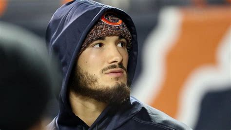 mitch trubisky day  day  shoulder injury  bears cautiously optimistic   play