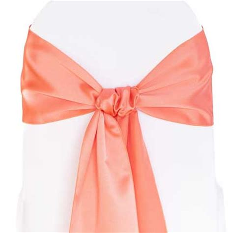coral sash rental for your wedding or