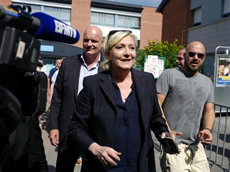 le bureau henin beaumont 39 s marine le pen target of fraud investigation wfae