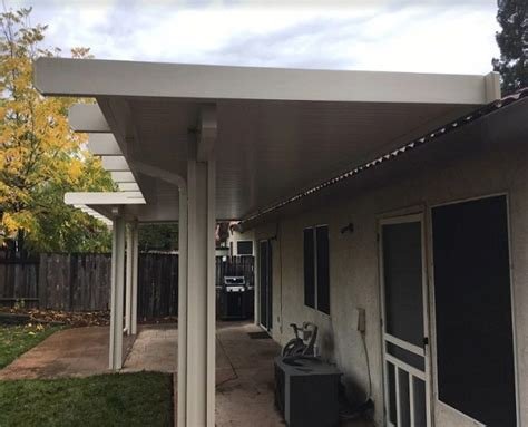 solid non insulated attached patio cover citrus heights ca