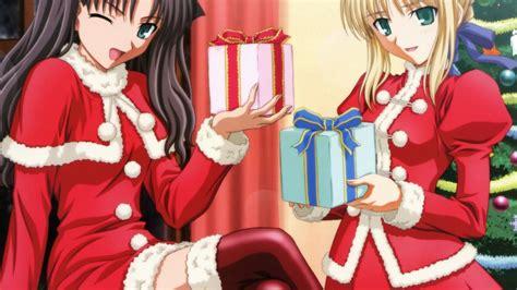 30 1080p Christmas Anime Wallpaper